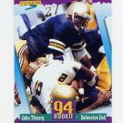 1994 Score Football #297 John Thierry RC - Chicago Bears