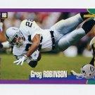 1994 Score Football #253 Greg Robinson - Los Angeles Raiders