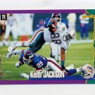1994 Score Football #223 Keith Jackson - Miami Dolphins