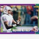 1994 Score Football #208 Haywood Jeffires - Houston Oilers