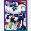 1994 Score Football #195 Vance Johnson - San Diego Chargers