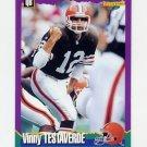 1994 Score Football #194 Vinny Testaverde - Cleveland Browns