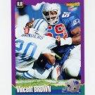 1994 Score Football #186 Vincent Brown - New England Patriots