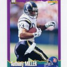 1994 Score Football #167 Anthony Miller - Denver Broncos