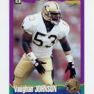 1994 Score Football #128 Vaughan Johnson - New Orleans Saints