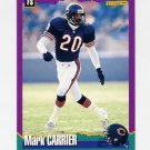 1994 Score Football #110 Mark Carrier - Chicago Bears