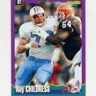 1994 Score Football #097 Ray Childress - Houston Oilers