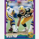 1994 Score Football #074 Bryce Paup - Green Bay Packers
