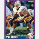 1994 Score Football #046 Paul Gruber - Tampa Bay Buccaneers