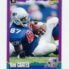 1994 Score Football #034 Ben Coates - New England Patriots