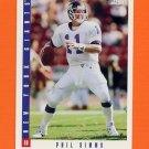 1993 Score Football #240 Phil Simms - New York Giants