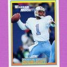 1992 Score Football #548 Warren Moon HL - Houston Oilers