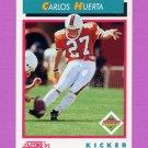 1992 Score Football #511 Carlos Huerta RC - San Diego Chargers