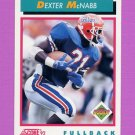 1992 Score Football #491 Dexter McNabb RC - Green Bay Packers