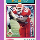 1992 Score Football #481 Rod Milstead RC - Dallas Cowboys