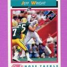 1992 Score Football #465 Jeff Wright - Buffalo Bills