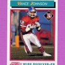 1992 Score Football #461 Vance Johnson - Denver Broncos