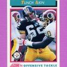 1992 Score Football #450 Tunch Ilkin - Pittsburgh Steelers