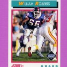 1992 Score Football #448 William Roberts - New York Giants