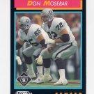 1992 Score Football #437 Don Mosebar - Los Angeles Raiders