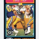 1992 Score Football #427 Bryce Paup - Green Bay Packers