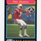 1992 Score Football #426 Fred Marion - New England Patriots
