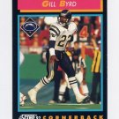1992 Score Football #418 Gill Byrd - San Diego Chargers