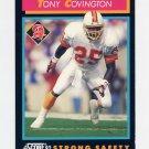 1992 Score Football #408 Tony Covington - Tampa Bay Buccaneers