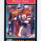 1992 Score Football #335 Dennis Smith - Denver Broncos