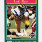 1992 Score Football #322 Larry Kelm - Los Angeles Rams