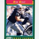 1992 Score Football #321 Bob Golic - Los Angeles Raiders