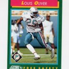 1992 Score Football #265 Louis Oliver - Miami Dolphins