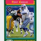 1992 Score Football #264 Tony Casillas - Dallas Cowboys