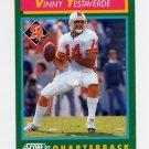 1992 Score Football #262 Vinny Testaverde - Tampa Bay Buccaneers