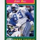 1992 Score Football #250 Jerry Ball - Detroit Lions