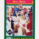 1992 Score Football #242 Don Beebe - Buffalo Bills