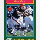 1992 Score Football #241 Dan Fike - Cleveland Browns