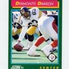 1992 Score Football #240 Dermontti Dawson - Pittsburgh Steelers