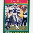 1992 Score Football #235 Issiac Holt - Dallas Cowboys