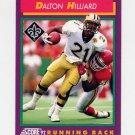 1992 Score Football #175 Dalton Hilliard - New Orleans Saints