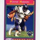 1992 Score Football #146 Ronnie Harmon - San Diego Chargers
