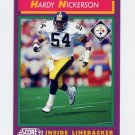 1992 Score Football #142 Hardy Nickerson - Pittsburgh Steelers
