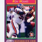 1992 Score Football #124 Ron Holmes - Denver Broncos