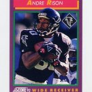 1992 Score Football #120 Andre Rison - Atlanta Falcons