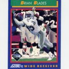 1992 Score Football #086 Brian Blades - Seattle Seahawks