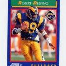 1992 Score Football #079 Robert Delpino - Los Angeles Rams
