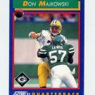 1992 Score Football #045 Don Majkowski - Green Bay Packers