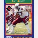 1992 Score Football #039 Luis Sharpe - Phoenix Cardinals