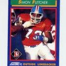1992 Score Football #031 Simon Fletcher - Denver Broncos
