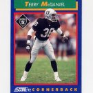 1992 Score Football #009 Terry McDaniel - Los Angeles Raiders